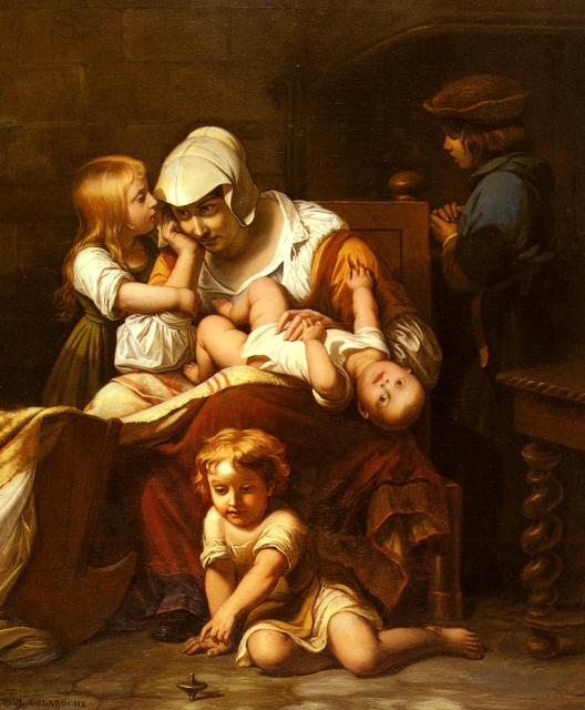Delaroche_Paul_YoungMotherandHerChildren