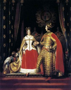 LANDSEER_Sir_Edwin_Henry_Queen_Victoria_And_Prince_Albert_At_The_Bal_Costume_Of_May_1842