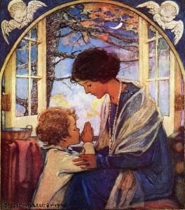 praying mother